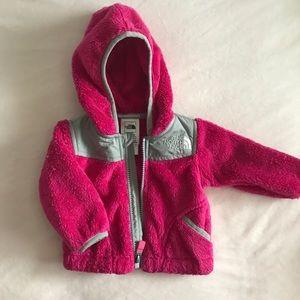 Newborn NorthFace Baby Sweater Hoodie